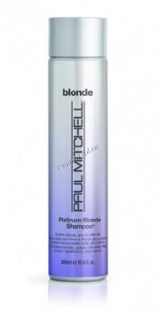Paul Mitchell Platinum blonde shampoo (Оттеночный шампунь для блондинок) - купить, цена со скидкой