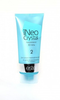 Estel De Luxe  iNeo-Crystal 3D-гель для сильно поврежденных волос, 200 мл. - купить, цена со скидкой
