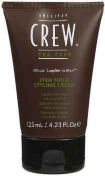 AMERICAN CREW Official Supplier to Men Tea Tree Крем для укладки волос, слабой фиксации 125мл - купить, цена со скидкой