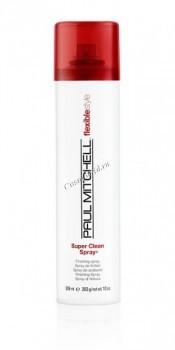 Paul Mitchell Super clean spray (Сухой аэрозольный лак средней фиксации), 300 мл. - купить, цена со скидкой