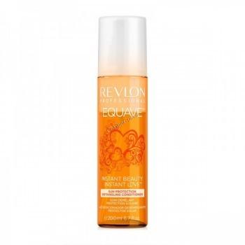 Revlon Professional equave sun protection detangling conditioner (Несмываемый кондиционер для защиты волос от солнца), 200 мл - купить, цена со скидкой