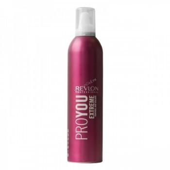 Revlon Professional pro you extreme hair mousse (Мусс для волос сильной фиксации), 400 мл - купить, цена со скидкой