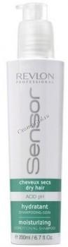 Revlon Professional sensor moisturizing shampoo (Увлажняющий шампунь - кондиционер для сухих волос), 200 мл - купить, цена со скидкой