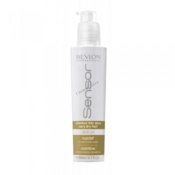 Revlon Professional sensor nutritive shampoo (Питательный шампунь-кондиционер для очень сухих волос), 750 мл - купить, цена со скидкой