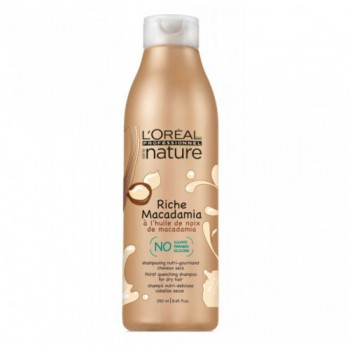 L'Oreal Professional Serie Nature Riche Macadamia Богастство Макадамия - шампунь для сухих волос 1500мл - купить, цена со скидкой