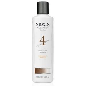 Nioxin Cleanser system 4 (Очищающий шампунь система 4), 1000 мл. - купить, цена со скидкой
