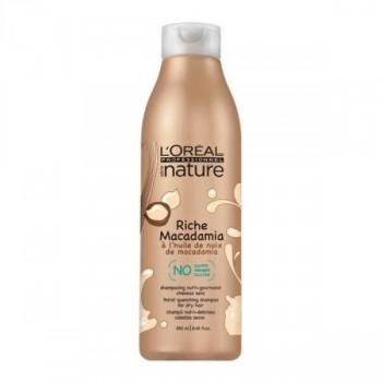 L'Oreal Professional Serie Nature Riche Macadamia Богастство Макадамия - шампунь для сухих волос 250мл - купить, цена со скидкой