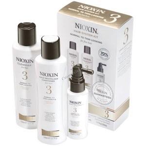 Nioxin Hair system kit system 3 (Набор 3-ступенчатой системы 3) - купить, цена со скидкой