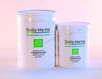 Stella Marina Скраб-гоммаж на основе измельчённой морской раковины «7 водорослей» - купить, цена со скидкой