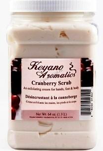 Keyano Cranberry Scrub (Клюквенный Скраб) 1,9 л. - купить, цена со скидкой