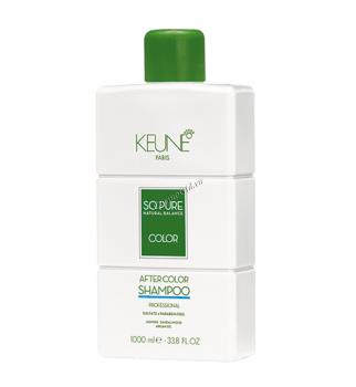 Keune So pure natural balance Color after color shampoo (Спа колор профессиональный шампунь после окрашивания), 1000 мл - купить, цена со скидкой