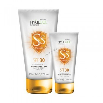 Hyalual safe sun (Солнцезащитный крем SPF-30) - купить, цена со скидкой