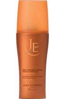 Jean d'Estrees Spray Invisible SPF25 (Солнцезащитный спрей для лица и тела SPF 25), 150 мл  - купить, цена со скидкой