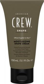 American crew Moisturizing Shave Cream (Крем увлажняющий для бритья), 150мл - купить, цена со скидкой
