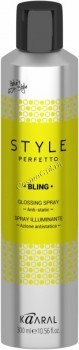 Kaaral Style perfetto Bling glossing spray (Спрей-защита от курчавости и для придания блеска), 300 мл. - купить, цена со скидкой