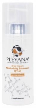 Pleyana Body Cream Moisturizing Sunscreen SPF 40 (Солнцезащитный увлажняющий крем для тела), 200 мл - купить, цена со скидкой