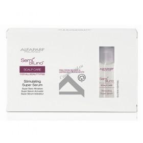 Alfaparf Sdl scalp stimulating super serum (Сыворотка стимулирующая для кожи головы), 12 шт по 10 мл - купить, цена со скидкой