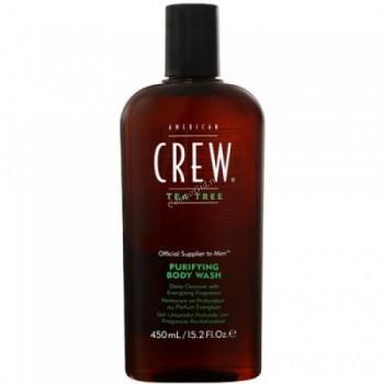 American crew Tea tree body wash (Гель для душа очищающий), 450 мл. - купить, цена со скидкой