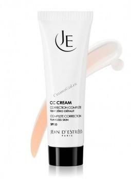 Jean d'Estrees CC Cream SPF50 Doree (СС Крем SPF-50 - корректор с тональным эффектом (Золотистый), 30 мл - купить, цена со скидкой
