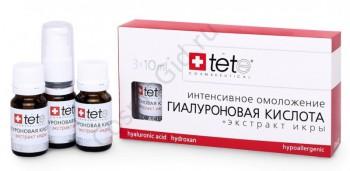 Tete Cosmeceutical Гиалуроновая кислота + экстракт икры, 3*10 мл - купить, цена со скидкой