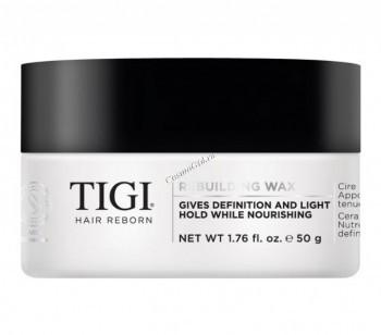 Tigi Hair Reborn Rebuilding wax (Моделирующий воск для волос), 50 гр - купить, цена со скидкой