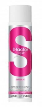 Tigi S-factor serious shampoo (Интенсивный шампунь) - купить, цена со скидкой