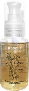 Kapous Флюид для поврежденных кончиков волос серии  «Treatment», 60 мл. - купить, цена со скидкой