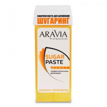 Aravia Сахарная паста для депиляции в картридже «Медовая» очень мягкой консистенции, 170 гр. - купить, цена со скидкой