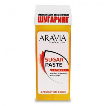 Aravia Сахарная паста для депиляции в картридже «Натуральная» мягкой консистенции, 170 гр - купить, цена со скидкой