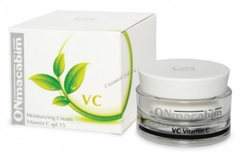 ONmacabim VC Moisturizing cream vitamin C spf 15 (Увлажняющий крем с витамином С спф 15) - купить, цена со скидкой