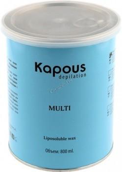 Kapous Silver (Жирорастворимый воск для спортсменов и мужчин) - купить, цена со скидкой