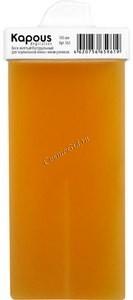 Kapous Жирорастворимый воск желтый натуральный в картридже, 100 мл. - купить, цена со скидкой