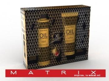 Matrix Oil wonders (Набор для восстановления волос) , 3 средства - купить, цена со скидкой