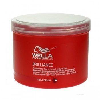 Wella (Крем-маска для окрашенных жестких волос), 500 мл - купить, цена со скидкой