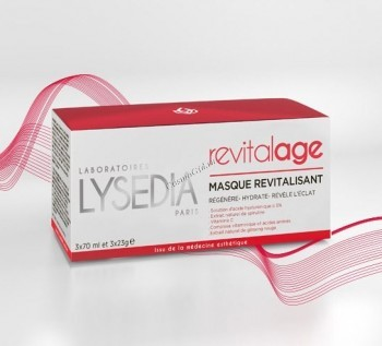 Lysedia Revitalage masque revitalisant (Маска ревитализирующая «Ревиталаж»), 10 шт. по 70 мл. - купить, цена со скидкой