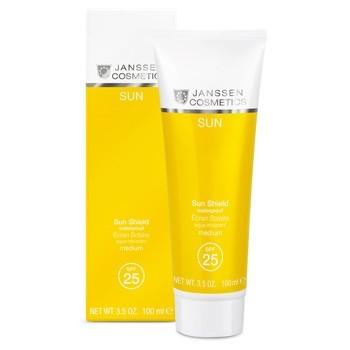 Janssen Sun shield waterproof SPF 25 (Водостойкая солнцезащитная эмульсия для лица и тела SPF 25), 100 мл - купить, цена со скидкой