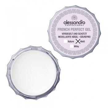 ALESSANDRO  French Gel FRENCH PERFECT NATURE Гель белый для франц. маникюра молочно-белый 15мл - купить, цена со скидкой