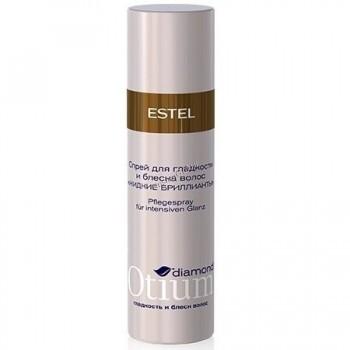 """Estel De Luxe Crystal fluid Спрей-блеск для гладкости волос """"Жидкие бриллианты"""", 100 мл. - купить, цена со скидкой"""
