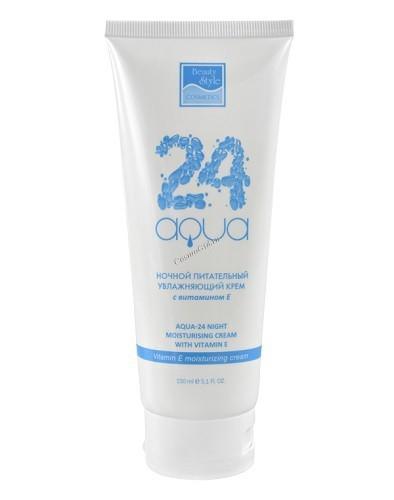 """Beauty Style Night moisturising cream with vitamin E (Ночной питательный увлажняющий крем с витамином Е """"Аква 24"""") - Средства дл"""