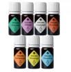 Ирис Комплект 100% натуральных композиций эфирных масел для духовных и энергетических практик по чакрам, 7 шт. по 5 мл - купить, цена со скидкой