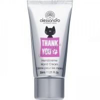 Alessandro Thank you hand cream (Крем  для рук), 30 мл - купить, цена со скидкой