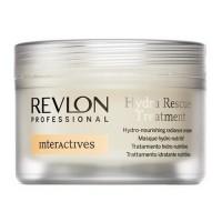 REVLON PROFESSIONAL  Увлажняющий уход для волос Hydra Rescue Repair 500мл.Маска под утюг - купить, цена со скидкой
