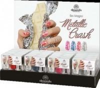 Alessandro Metallic crash (Набор лаков для ногтей «Металлик»)   - купить, цена со скидкой