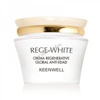 Keenwell Rege-white all-over anti-ageing regenerative cream Global (Восстанавливающий омолаживающий крем «Глобал»), 50 мл. - купить, цена со скидкой