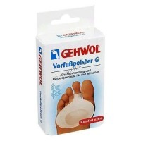 Gehwol comfort vorfuspolster g rechts  (Вкладыш-подушка под пальцы), 2шт - купить, цена со скидкой