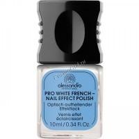 Alessandro Prm pro white french (Отбеливающий лак для ногтей французский маникюр), 10 мл - купить, цена со скидкой