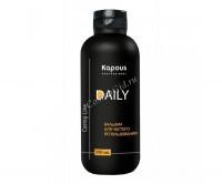Kapous Бальзам  для ежедневного использования  «Daily», 350 мл. - купить, цена со скидкой
