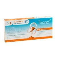Teana/ N1 «Энергия шёлка» Сыворотка от мимических морщин вокруг губ и у крыльев носа, увеличивающая объем  и моделирующая контур губ - 10амп*2мл - купить, цена со скидкой