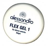 ALESSANDRO Flex Gel Гель для наращивания , моделир.ломких и слоящихся ногте  2 100g  - купить, цена со скидкой