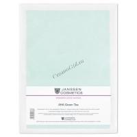 Janssen Collagen с АНА green tea (Коллагеновая маска с АНА и зеленым чаем), 5 шт. - купить, цена со скидкой